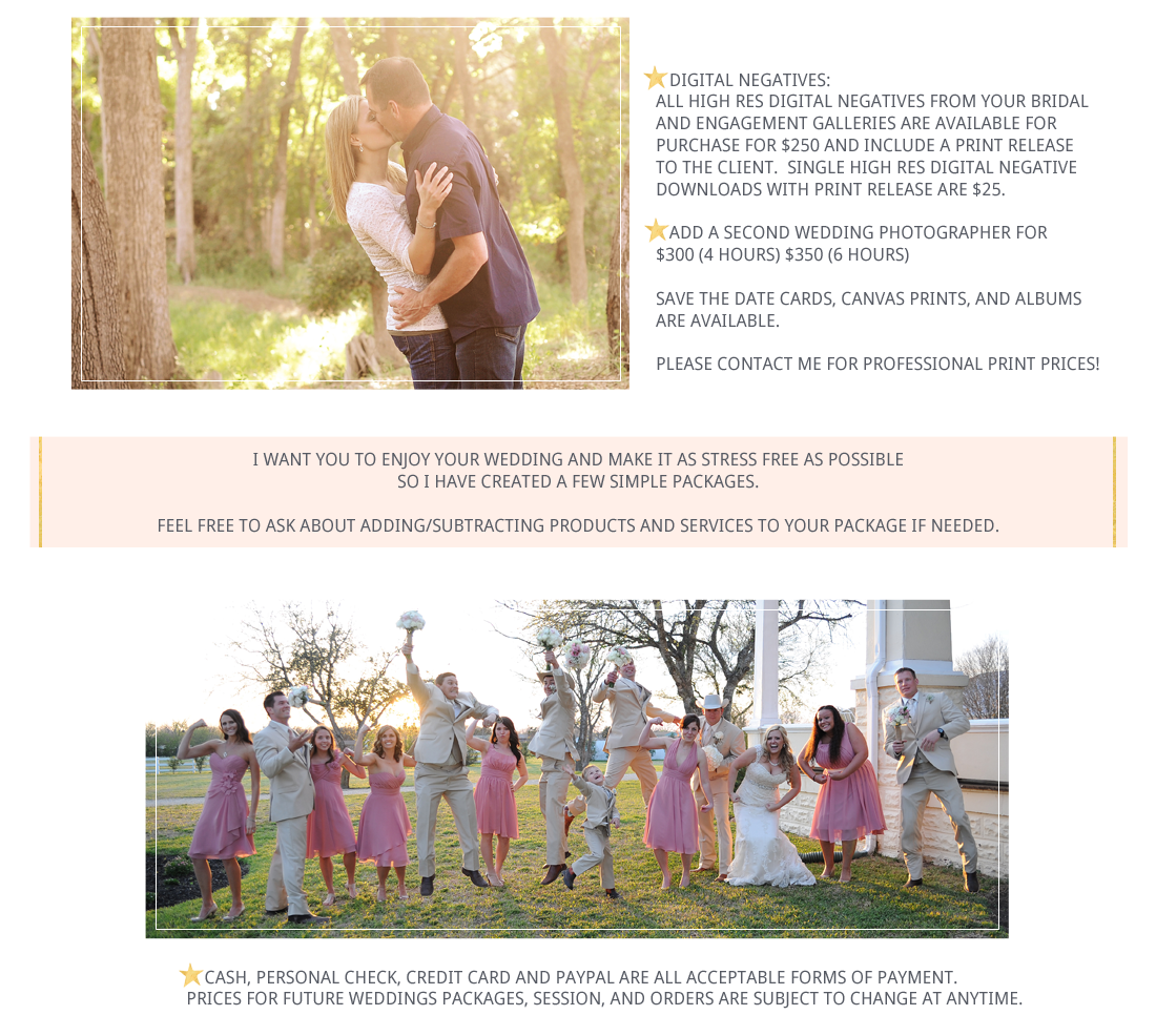 Jennifer Mayne Photography - Georgetown, TX - Engagement and wedding information
